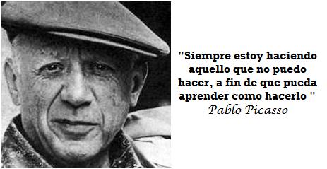 Frases de autoayuda Pablo Picasso | Autoayuda- Motivacional